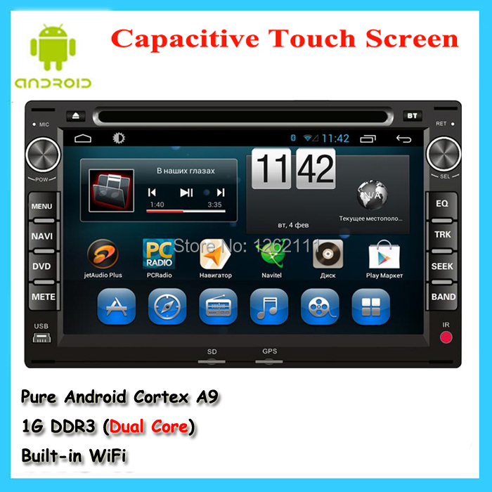 in-dash 1.6Ghz Dual Core Pure Android 4.2 SatNavi car stereo gps navigation system for volkswagen vw golf iv 4 passat b5 polo(China (Mainland))