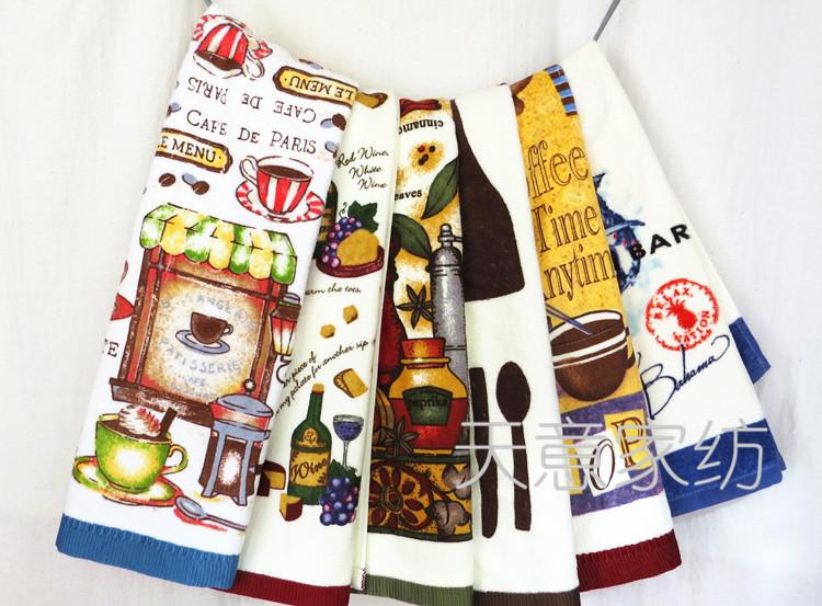 Export tea towel printed cotton towel manufacturers, wholesale pillow MJ(China (Mainland))