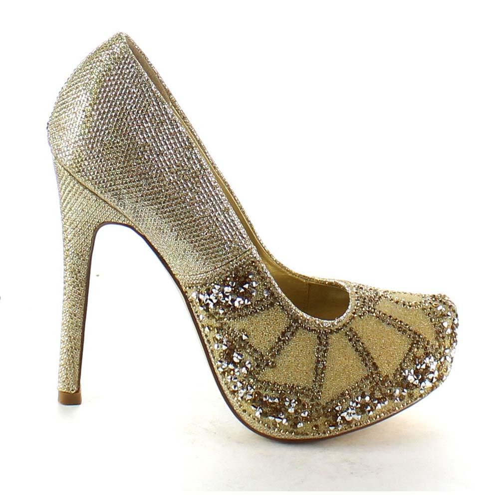 Stiletto Silver Heels