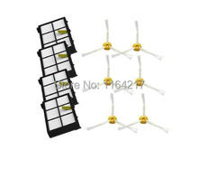 Buy 6 side brush +4 Heap filter kit replacement iRobot Roomba 800 900 Series 870 880 980 Vacuum Cleaner parts Accessories for $15.10 in AliExpress store