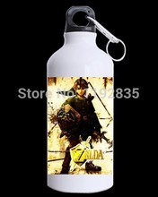Custom The Legend of Zelda background for Stainless Steel sports water bottles 630ml (22 OZ)(China (Mainland))