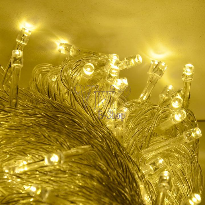 Warm White 50M 300 LED String Lights Fairy Christmas Lights Outdoor Twinkle Wedding Decoration Tree Lights For New Year ZDD(China (Mainland))
