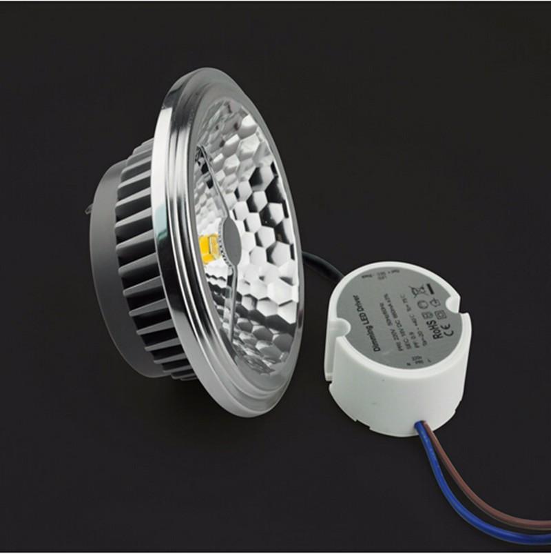 EXTERNAL DRIVER LED AR111 SPOTLIGHT (7)