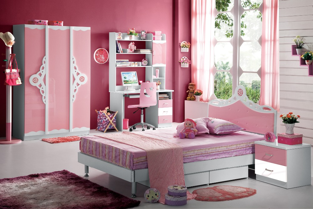 Popular kids bunk bed buy cheap kids bunk bed lots from for Meuble enfant