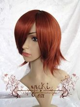 TJS &Wholesale&>>           Short Straight Cosplay Party Men's Hair Full Wigs