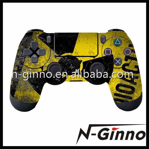 Free Shipping 1 Piece Evil Umbrella Style Vinly Skin Stickers For Playstation 4 PS4 Stickers For PS4 Controller(China (Mainland))