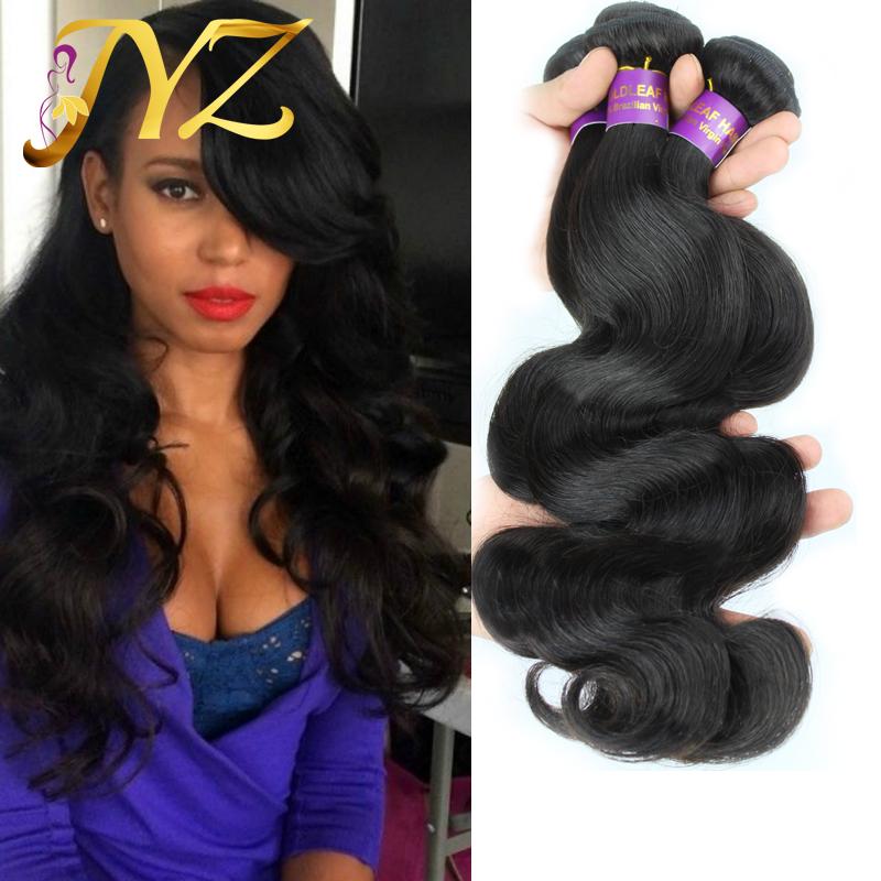 Unprocessed Peruvian Virgin Hair Body Wave 3PCS Grade 6A Virgin Human Hair Extension Peruvian Body Wave Wholesale Hair Weave(China (Mainland))
