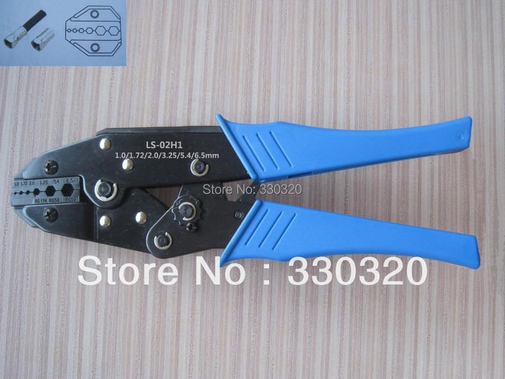 RG58 RG59 RG62 crimper BNC fiber optic Crimping Tool for crimping coaxial cable connectors LS-02H1(China (Mainland))