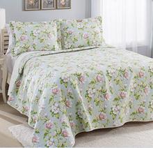 1 unidades 100% algodón Laura Ashley Coral costa niebla edredón hoja de cama Aqua verde(China (Mainland))