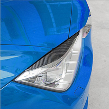 Buy Carbon Fiber Car Styling Front Headlights Eyebrows Eyelids Decoration Trim Strips BMW 5 series F10 f30 f35 525 Accessories for $33.21 in AliExpress store