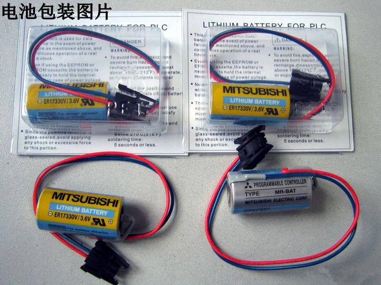 10pcs/lot New Original MR-BAT ER17330V/3.6V Industrial Lithium PLC Battery Batteries For Mitsubishi Free Shipping<br><br>Aliexpress