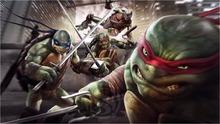 F#31 Custom Teenage Mutant Ninja Turtles Movie Home Decor Creative Art Poster Print Wall Sticker FREE SHIPPING More Size Gj-#31(China (Mainland))