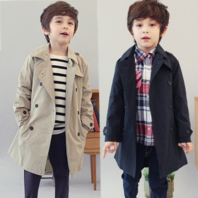 Free shipping 2013 New Arrival Boy long-sleeve Trench Cotton Boys Coats Autumn Children Outerwear for 3 - 11 years<br><br>Aliexpress