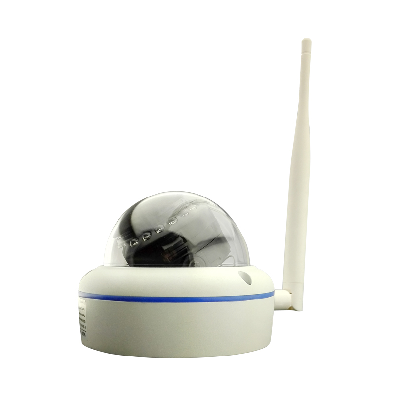 Wireless HD 960P wifi 1.3MP indoor dome camera metal housing security glass shield P2P<br><br>Aliexpress