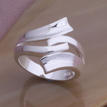 J187 Factory Price Wholesale Silver Plated Rings For Women Fashion Jewelry Top Quality Free Shipping