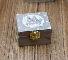 Hayao Miyazaki Totoro wooden music box(China (Mainland))
