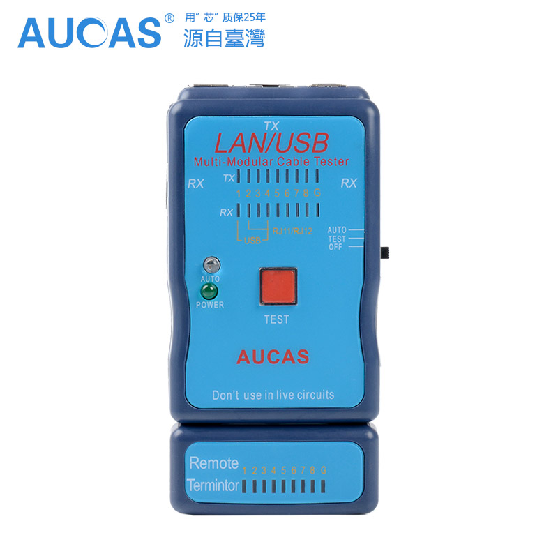 2016 New Arrival AUCAS Network Cable Tester RJ45 RJ11 Cale Tester USB Cable Tester Multifunction Cable Tester(China (Mainland))