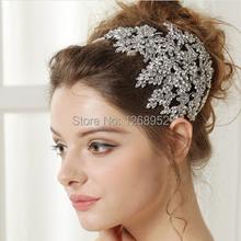 cheap bridal crystal headband
