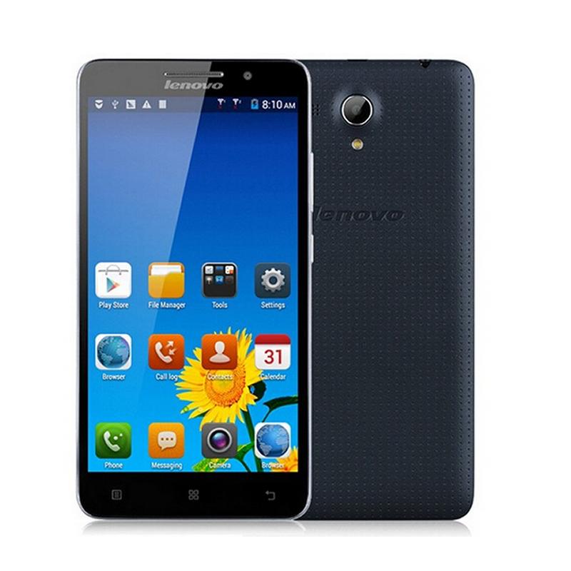 black Lenovo A616 FDD 4G Android 4.4 MTK6732M Quad Core Cell Phone RAM 512MB ROM 4GB Dual Camera 5MP GPS Dual SIM(Hong Kong)