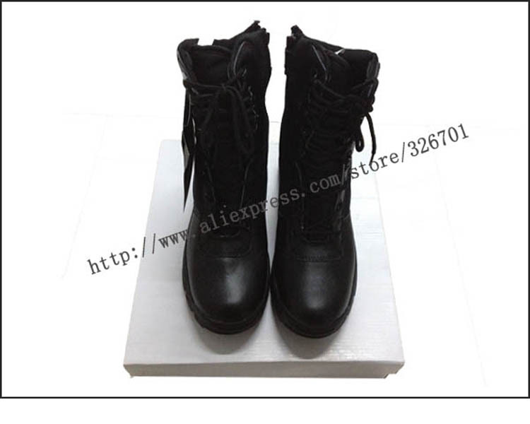 new 2015 brand mens swat boots male hiking boots desert tactical combat boots wear-resistant Army Military men shoes(China (Mainland))