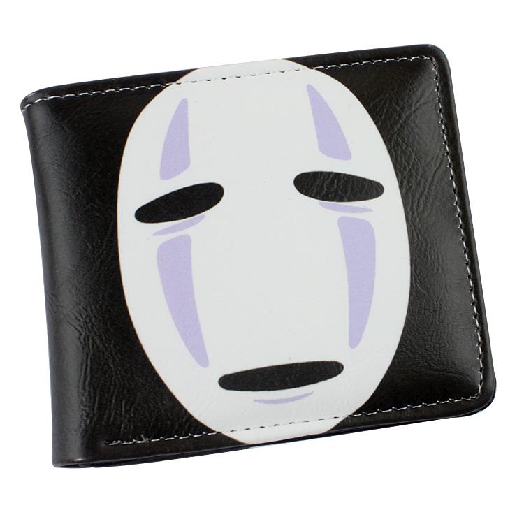 Anime wallet PU Cartoon Short Wallet Spirited Away Wallet Totoro Wallet(China (Mainland))