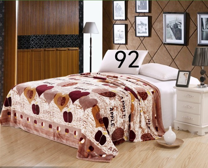 230g /sq.m. Home Textile,Warm coral fleece blankets on the bed,4 Size for choice bed blankets,can be as bed sheet,Free shipping(China (Mainland))
