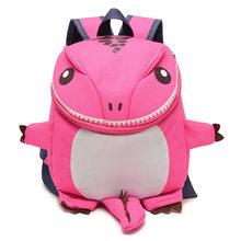 Рюкзак с 3D динозавром для мальчиков и девочек, маленький школьный рюкзак для детского сада, школьные сумки с животными, плюшевый рюкзак, дет...(China)