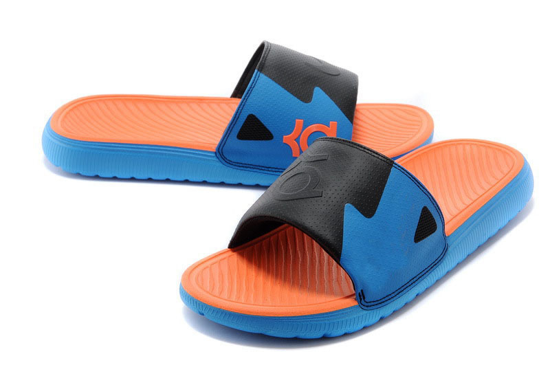 2015 New arrival brand sport Kevin Durant KD slide air cushion slippers Men's sandals Wholesale(China (Mainland))