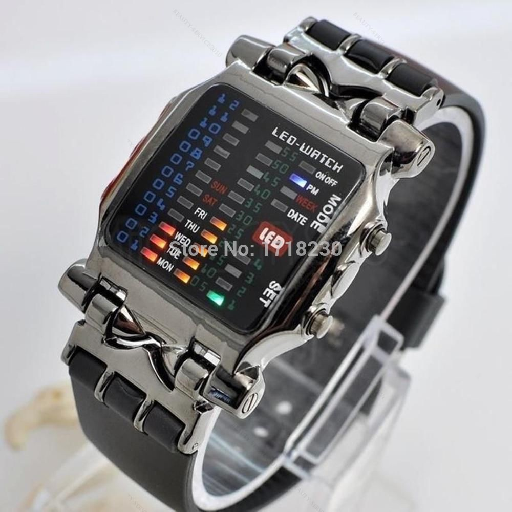 fashion sport fitness running digital watches led