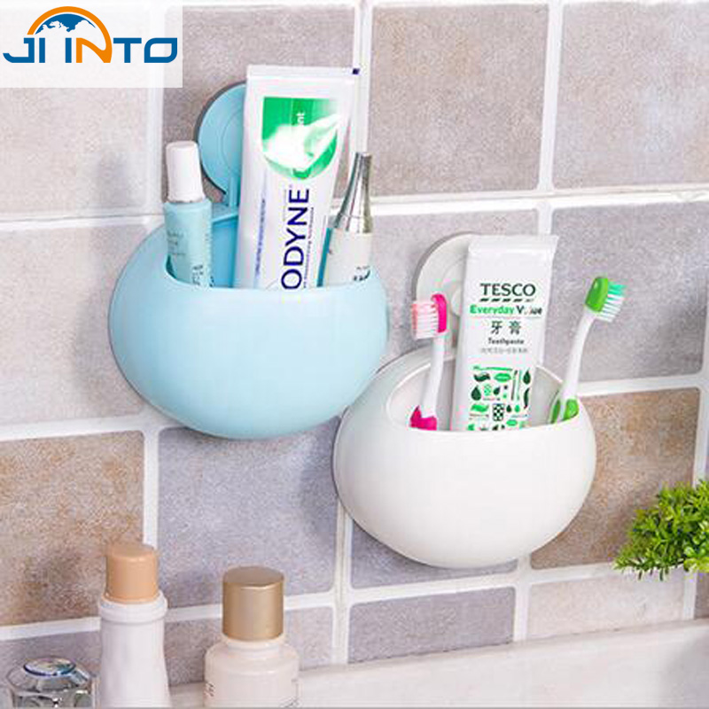 Bathroom toothbrush holder