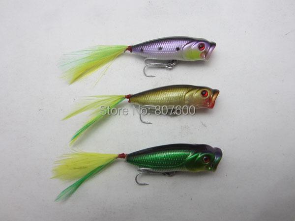 Crazy Fish - Fishing Wobbler Top Water Lures Mini Popper Pike Bass Trout 3.5cm/2.5g 6 pcs/lot<br><br>Aliexpress