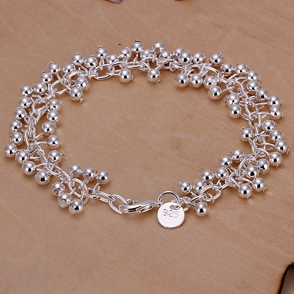 Гаджет  Wholesale! 925 silver bracelet 925 silver fashion jewelry charm bracelet Purple Bracelet H017 None Ювелирные изделия и часы