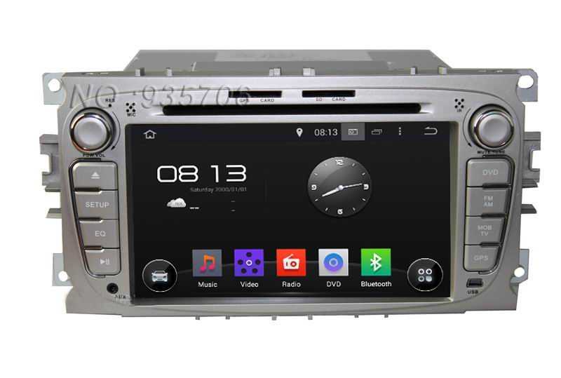 For Ford focus 2008-2010  2din Android4.4 Car DVD 1024*600  with WIFI 3G GPS USB Capacitive screen Car radio car Audio car<br><br>Aliexpress