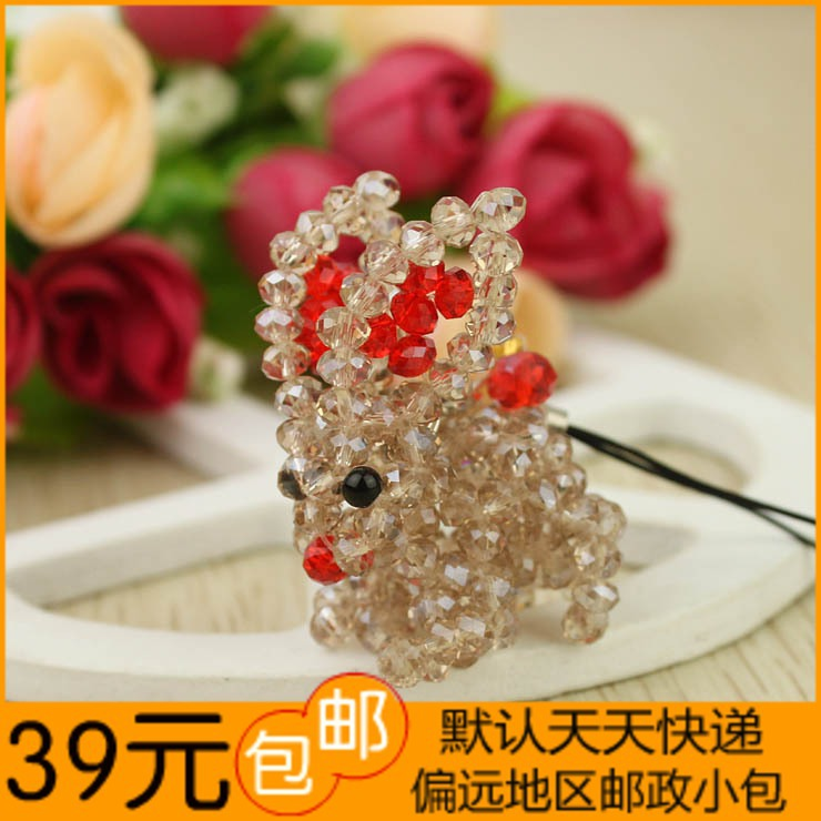 Rabbit mobile phone chain small commodities small toy small gift