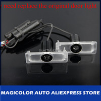 Free Shipping Emblem Projector Lamp Light LED Car Door Courtesy Welcome Ghost Shadow Laser  Light Lamp Fit for BMW
