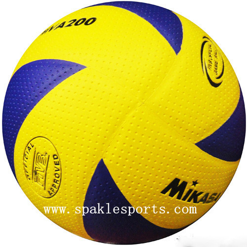 free shipping size5 official Volleyball PU Soft Touch Offical Size -NEW MVA200, 8panels volleyball(China (Mainland))
