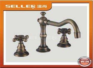 oil rubber bronze Antique  Brass New  Basin Single hole single handle Brand Faucet+wholesale & retail+high quality