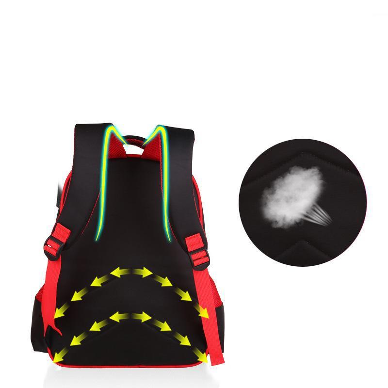 Новые ортопедические ранцы водонепроницаемый первичного детская школа сумка высокое качество 3D рюкзак начальная школа сумки бесплатная доставка