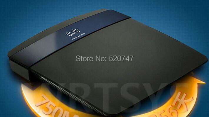 Cisco Linksys EA3500 N750 Wireless Dual Band Gigabit Router Wireless wifi routing through walls ap(China (Mainland))