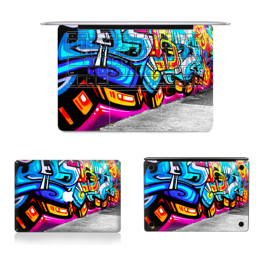 Laptop Full Vinyl Decal Top Bottom and Keyboard Side Stickers Wall Graffiti Skins For Macbook Air Retina Pro 11121315<br><br>Aliexpress
