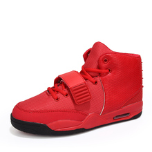 Buy Men Hightops Basket Shoes Casual Sport Brand Y2 Red Bottom Calzado Deportivo Red Black White Trainers Superstar Air Men Shoes for $25.19 in AliExpress store