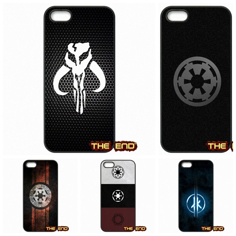For Apple iPhone 4 4S 5 5C SE 6 6S Plus 4.7 5.5 iPod Touch 4 5 6 Star Wars Imperial Logo Greatest Mobile Phone Cases Cover(China (Mainland))