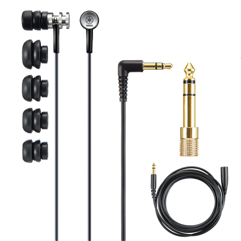 Original EPH 100 Wired 3 5MM Hi fi stereo Earphones Professional ear metal noise fone de