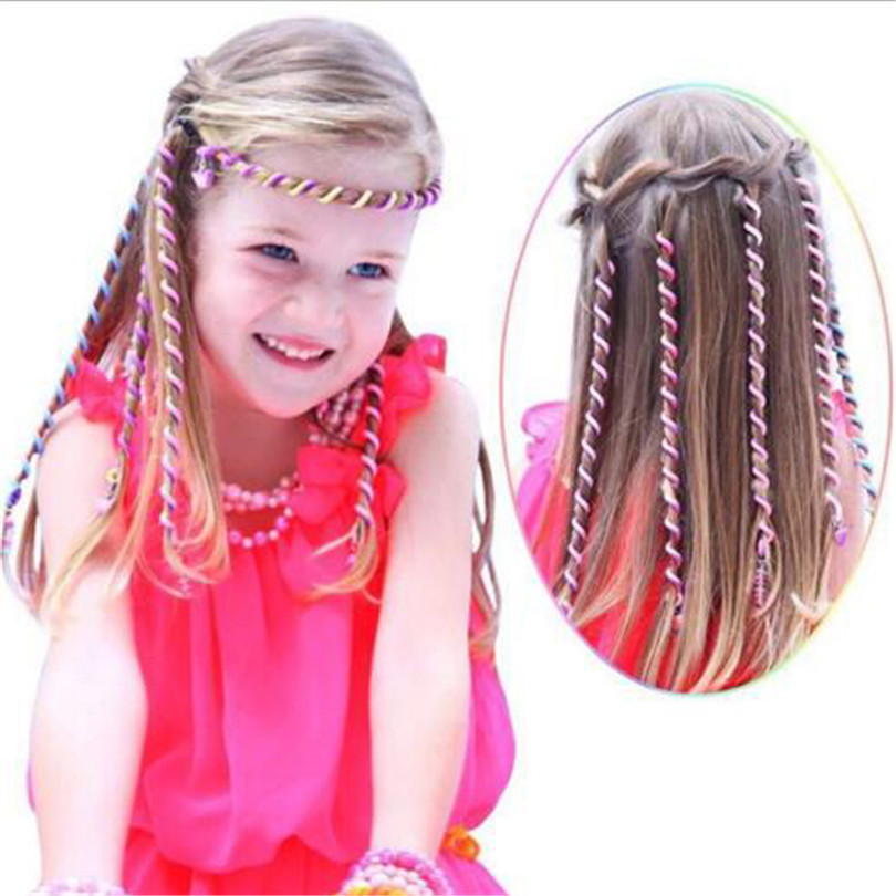 6pcs/pack fashion baby lovely spiral spin hairpin hair curler twist barrette for girl diy braid hair styling tool hair accessory(China (Mainland))