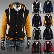 2014 NEW Classic Hoodie Baseball Jacket man coat, eight color AC cardigan foreign trade(China (Mainland))
