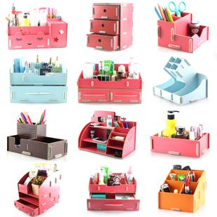 Princess Drawer Wooden Desktop Storage Box Cosmetics Jewelry Box