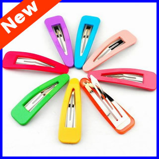 Beautiful Candy Color Hair Pin Baby BB Clip Baby Girl Hairpins Hair Side Clips 50 Country Free Shipping SP01