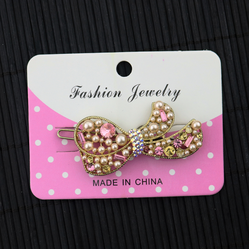 100pcs Pink Paper Jewelry Cards Hair Accessory Packaging Paper Packing Cards Jewelry Cards Hairpin Cards 6x8cm(China (Mainland))