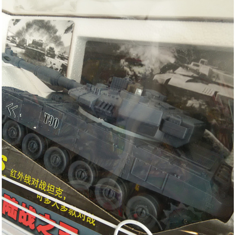 newest rc tank toy Battle Infrared can multiplayer musical flashing simulation track, super gradeability vitality indicators,(China (Mainland))
