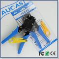 AUCAS RJ45 RJ11 Network Cable Tool Cat6 Network Crimping Tool Crimper Pliers Tools 10PCS RJ45 Connectors